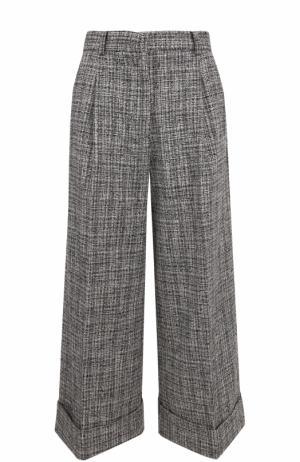 Укороченные расклешенные брюки со стрелками Tara Jarmon. Цвет: серый