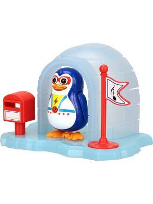 Пингвин в домике Silverlit. Цвет: синий
