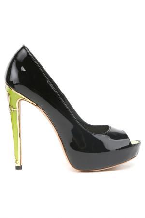 Туфли Twice. Цвет: черный