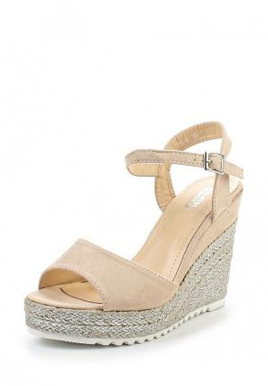 Босоножки Max Shoes. Цвет: бежевый