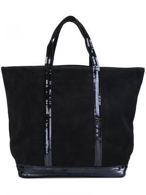 Большая сумка-тоут Vanessa Bruno. Цвет: синий
