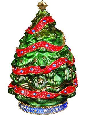 Шкатулка Mister Christmas. Цвет: зеленый