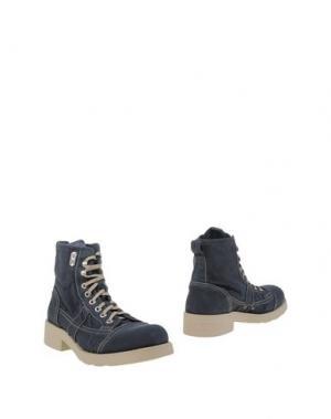 Полусапоги и высокие ботинки O.X.S.. Цвет: темно-синий