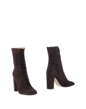 Полусапоги и высокие ботинки FABIO RUSCONI. Цвет: темно-коричневый
