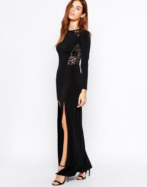 Binky Платье макси for Lipstick Boutique Westminster. Цвет: черный