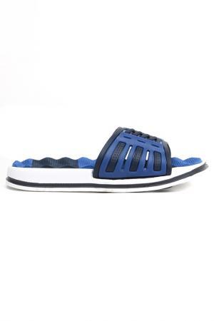 Шлепанцы MURSU. Цвет: синий, голубой