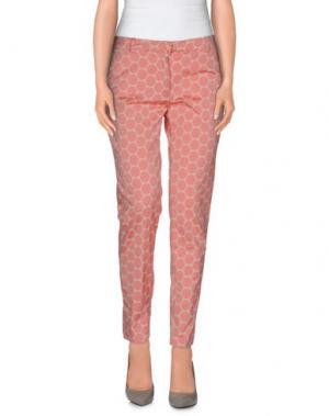Повседневные брюки TERESA DAINELLI. Цвет: розовый