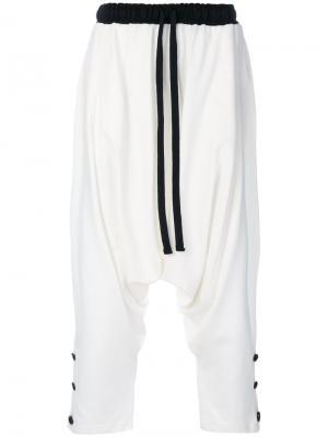 Sarouel trousers Alchemy. Цвет: белый