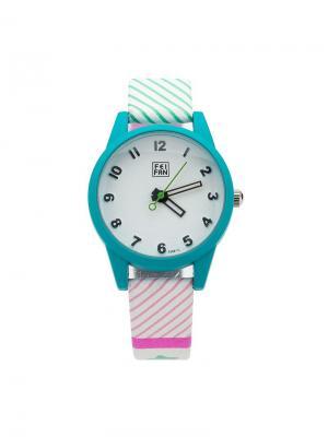 Часы наручные Feifan. Серия Dori Feifan. Цвет: лазурный, розовый