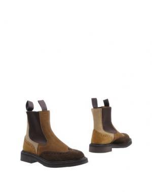 Полусапоги и высокие ботинки TRICKER'S. Цвет: верблюжий