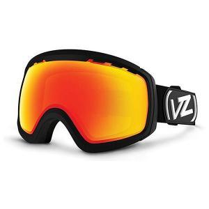 Маска для сноуборда  Feenom Nls Black/Fire Chrome Von Zipper. Цвет: черный
