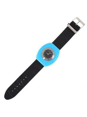 Часы наручные BALEX. Цвет: черный, бирюзовый, серебристый