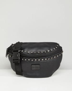 Spiral Сумка-кошелек на пояс Bijoux. Цвет: черный