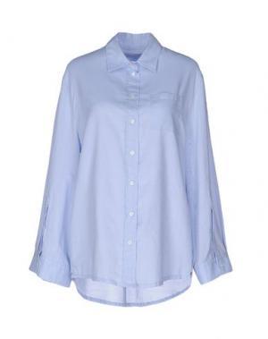 Pубашка OTTOD'AME. Цвет: небесно-голубой