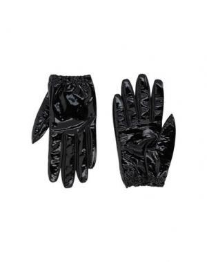 Перчатки JIL SANDER NAVY. Цвет: черный
