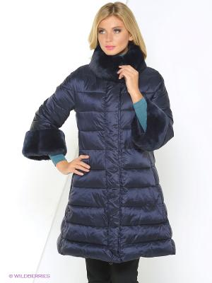 Куртка EVACANA. Цвет: синий