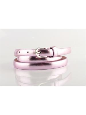 Ремень женский INDIVIDUUM. Цвет: розовый, фиолетовый