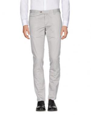 Повседневные брюки COCHRANE. Цвет: светло-серый