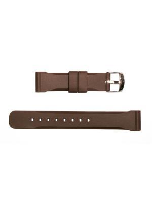 Ремень для часов 18 мм.  J.A.WILLSON J.A. Willson. Цвет: темно-коричневый