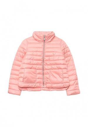 Куртка утепленная Gulliver. Цвет: коралловый