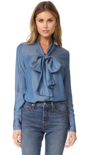 Блуза Sophie RUKEN. Цвет: шамбре
