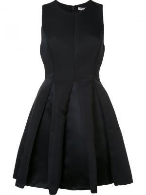 Full flared dress Halston Heritage. Цвет: чёрный