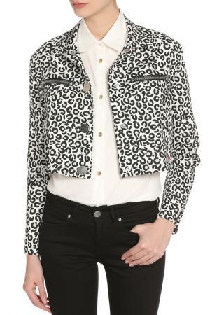 Жакет Love Moschino. Цвет: white, s.leopard