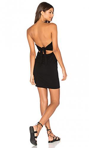 Платье без бретель monique Clayton. Цвет: черный