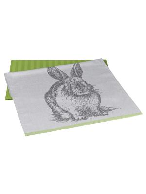 Кухонное полотенце в упаковке 50x70*2 HOBBY HOME COLLECTION. Цвет: светло-зеленый, салатовый