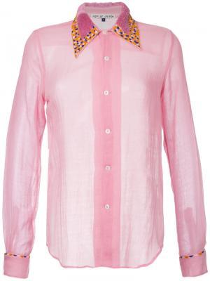 Рубашка Shiprocked Jupe By Jackie. Цвет: розовый и фиолетовый