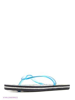 Туфли для купания детские из ЭВА композиции BRIS. Цвет: голубой