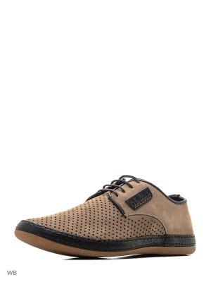 Туфли CARLO BELLINI. Цвет: бежевый