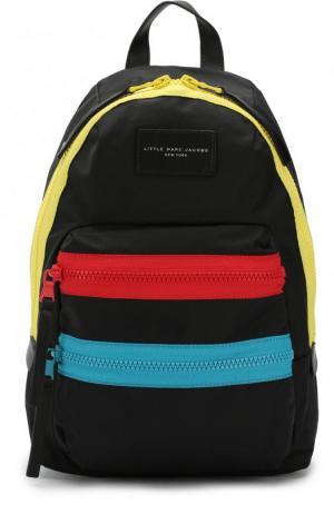 Рюкзак с контрастной отделкой Marc Jacobs. Цвет: черный