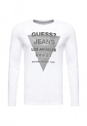 Лонгслив Guess Jeans. Цвет: белый