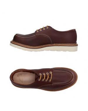 Обувь на шнурках RED WING SHOES. Цвет: красно-коричневый