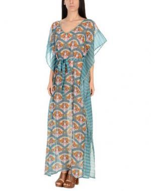 Пляжное платье PAOLITA. Цвет: цвет морской волны