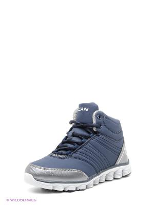 Ботинки Escan. Цвет: темно-синий
