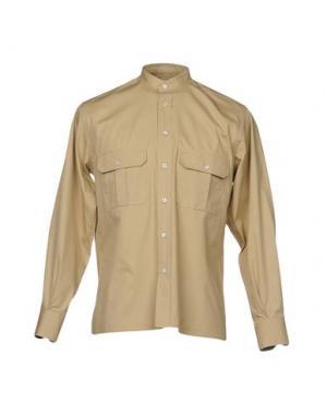 Pубашка CAMO. Цвет: бежевый