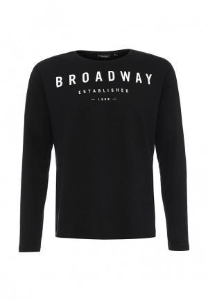 Лонгслив Broadway. Цвет: черный