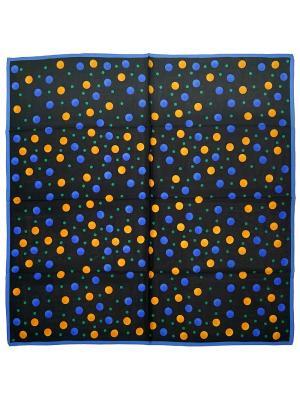 Платок Zalta. Цвет: черный, синий, зеленый, желтый