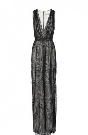 Вечернее платье Alice + Olivia. Цвет: черный