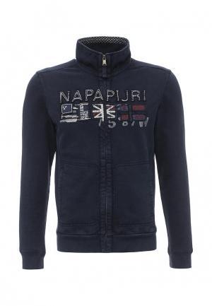 Олимпийка Napapijri. Цвет: синий