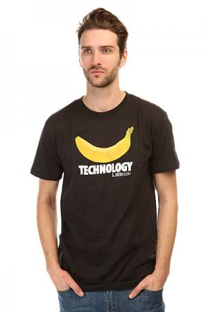 Футболка  Banana Tech Tee Tr Black Lib. Цвет: черный