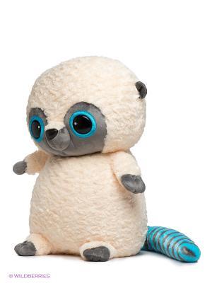 Мягкая игрушка Юху Aurora. Цвет: молочный, черный, серый, голубой