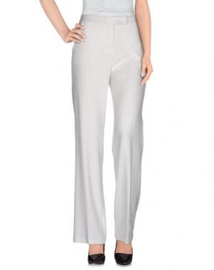 Повседневные брюки ANDREA MORANDO. Цвет: белый