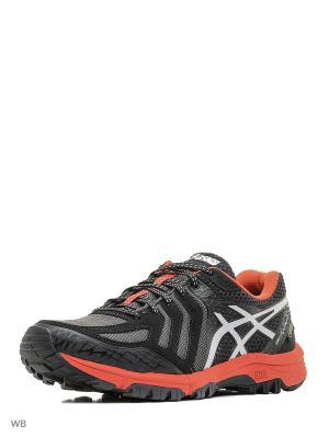 Спортивная обувь GEL-FujiAttack 5 G-TX ASICS. Цвет: красный, серебристый, черный