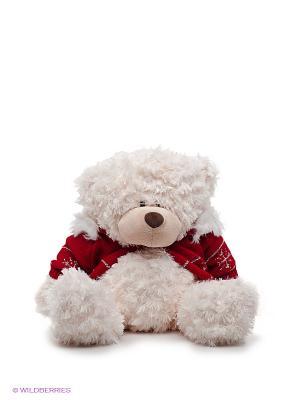 Медведь в свитере PLUSH APPLE. Цвет: белый