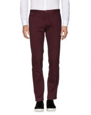 Повседневные брюки ALTEA. Цвет: красно-коричневый