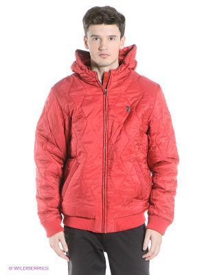 Куртка Wesc. Цвет: красный