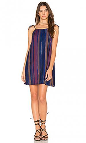 Платье-комбинация amalfi Cleobella. Цвет: синий